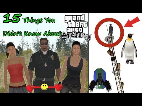 15 Things You Didn't Know About Gta San Andreas - Never Seen Before!