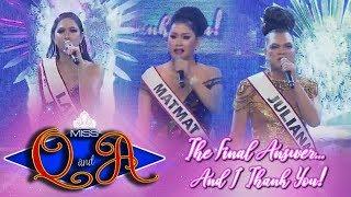 Video It's Showtime Miss Q & A Grand Finals: Miss Q & A Top 3 | The Final Answer MP3, 3GP, MP4, WEBM, AVI, FLV November 2018