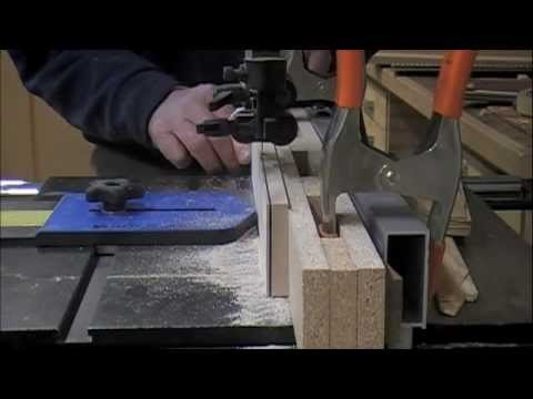 band saw - Woodworking - how to adjust for band saw blade drift YouTube video for workshop techniques & skills. A woodworking online video shows how to adjust for band ...