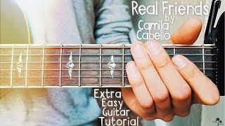 Video Real Friends Camila Cabello Guitar Lesson for Beginners // Real Friends Guitar // Lesson #386 MP3, 3GP, MP4, WEBM, AVI, FLV Maret 2018