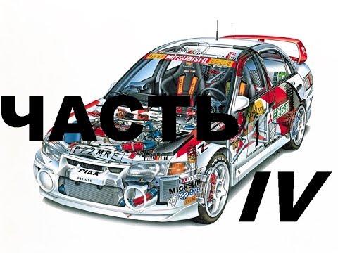 Фильм «Назад в гонки» постройка автомобиля Lancer Evolution IV часть IV
