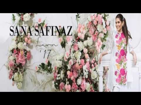 Sana Safinaz Lawn Collection 2017 with Price (видео)