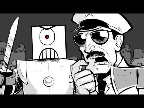 AXE COP - The Beginning (Episode 2)
