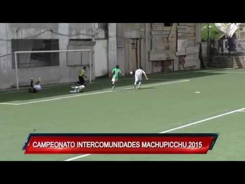 CON ÉXITO FINALIZÓ EL CAMPEONATO INTERCOMUNIDADES MACHUPICCHU 2015