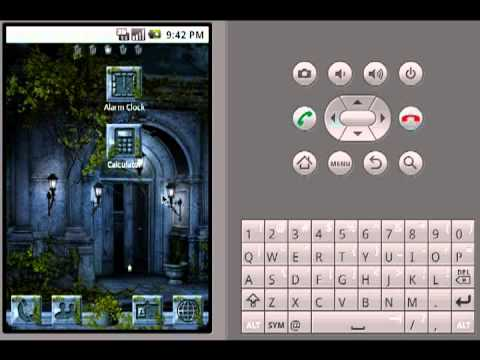 Video of GO Launcher Theme Goth Night