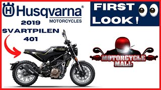 10. 2019 Husqvarna Svartpilen 401 | First Look