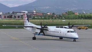 Croatia Airlines OU 2444 Brac Airport - Graz Airport 17.06.2017 Departure: 13.09 Arrival: 14.12 Landing Graz Airport  GRZ  LOWG Runway 35C, 3000m x 45m Asp...