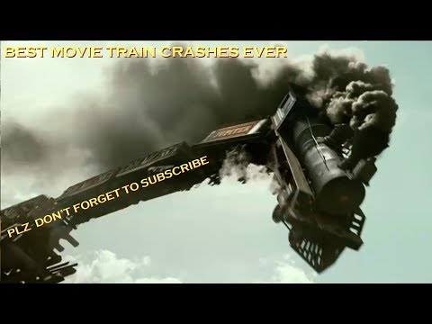 TOP 21 Best Train Crashes From MOVIES  CAN U NAME THEM ALL Best One on You Tube PERIOD