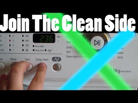 Star Wars theme settings on washing machine