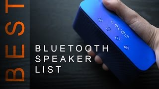 Best Bluetooth Speakers 2016 (Small - Medium - Large)