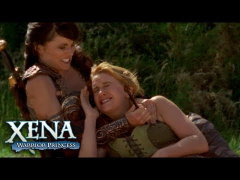 Gabrielle Is Wounded by A Poisoned Arrow | Xena: Warrior Princess