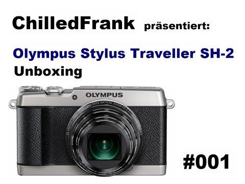 Olympus Stylus SH-2 Unboxing #001 [ger/HD]