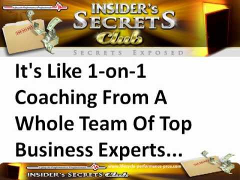 Victor Holman's Insiders Secrets Club