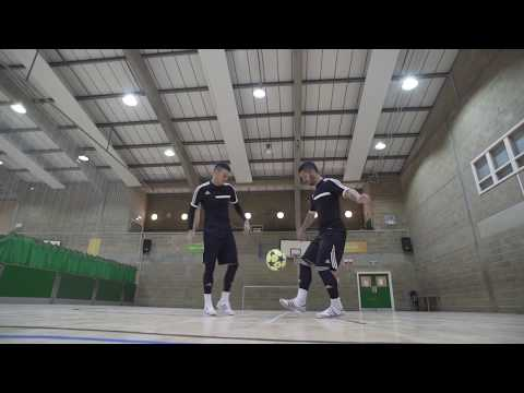 F2Freestylers Practice Session! Crazy Football Skills | Football Freestyle Double Act / Duo