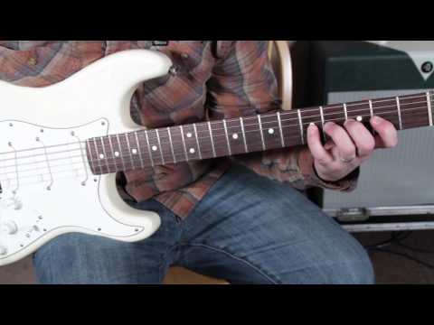 Guitar Scales Lesson – Guitar warmup and exercises – Chromatic scale