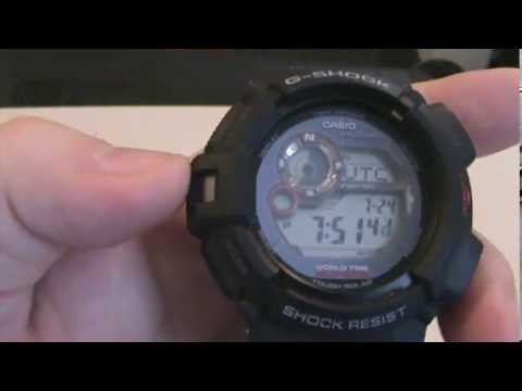 Casio G Shock Mudman G9300-1 Review, Tactical Watch Review
