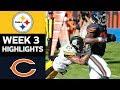 Steelers vs Bears | NFL Week 3 Game Highlights
