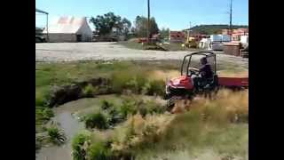 8. Video of Kubota RTV900 Turbo, With Soucy Tracks up the Creek