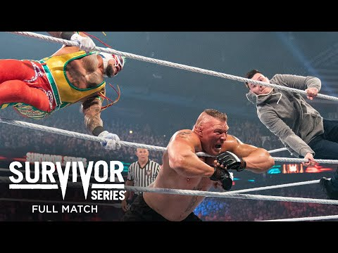 FULL MATCH - Brock Lesnar vs. Rey Mysterio – WWE Title No Holds Barred Match: Survivor Series 2019