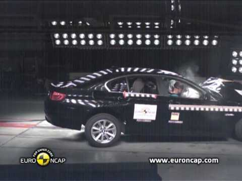 BMW 5-series All new BMW 5 Series Crash Test Euro Ncap 2010