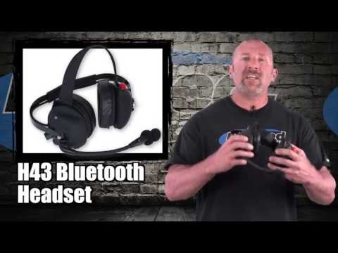 Rugged Radios Bluetooth H43 Racing Headset