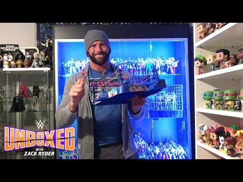 WCW Sound Slammin' Action Ring: WWE Unboxed with Zack Ryder