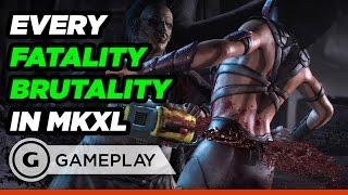 Rùng mình trước những màn Fatality và Brutality 'max' tởm của Mortal Kombat XL