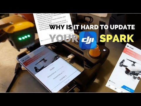 PROBLEMS UPDATING DJI SPARK FIRMWARE