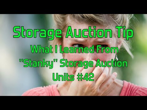 Storage Auction Tip- What I Learned From Stanky Storage Auction Units