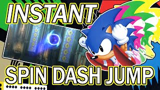 How to Instant Spin Dash Jump – A Sonic Tutorial
