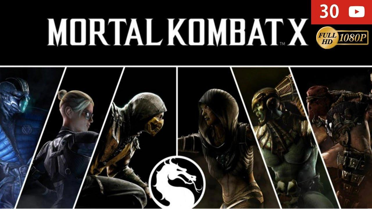 Mortal Kombat X Pelicula Completa Español Latino – Todas Las Cinemáticas – Modo Historia – 1080p #Películas