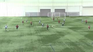 Uefa A License:Coaching 3-5-2 defending a 4-3-3