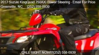 10. 2017 Suzuki KingQuad 750AXi Power Steering  for sale in Gree
