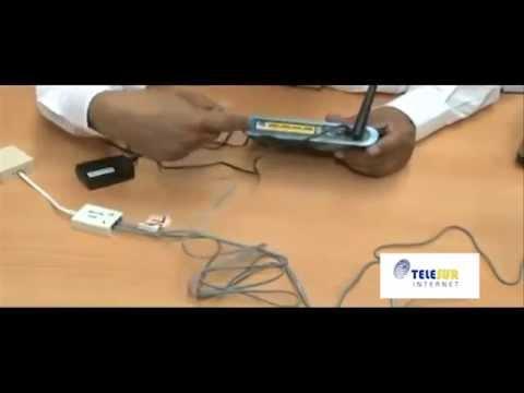 Telesur doe-het-zelf internet installatiepakket