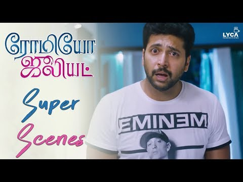 Jayam Ravi Creates A Scene In Hanshika's Home - Romeo Juliet | Scene | Lyca Productions