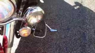 10. 2009 Yamaha V-Star 1100 offered at bangormotorsports.net