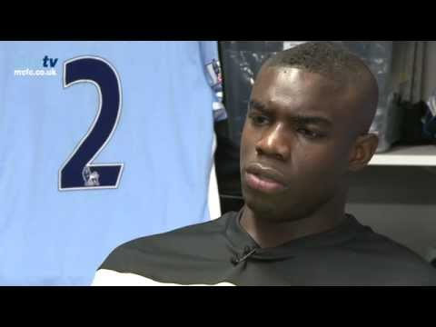 mcfcofficial - Manchester City defender Micah Richards looks ahead to his side's game against Queens Park Rangers at Loftus Road. Micah will face two former team mates in S...