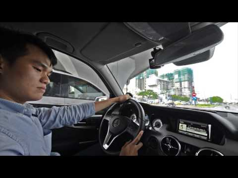Trải nghiệm sau tay lái Mercedes Benz GLK250