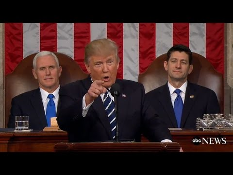 President Trump Full Speech to Congress | ABC News (видео)