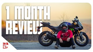 7. 2020 Yamaha R3   1 Month Review
