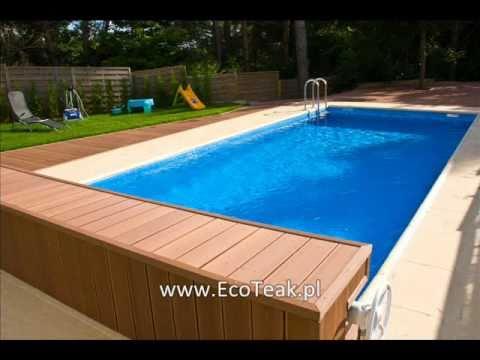 Kompozyt Drewna EcoTeak - tarasy,pomosty,ogrodzenia,balustrady,mała architektura ogrodowa.