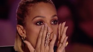 Download Video Shy little girl leaves the judges in TEARS with her AMAZING Voice MP3 3GP MP4