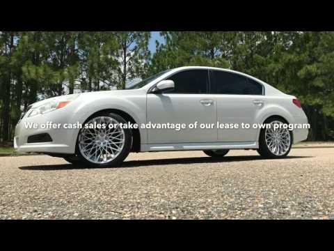 2013 Subaru Legacy sitting on 20