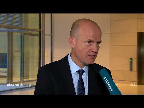 Ralph Brinkhaus (CDU) zur Kanditatur um den Fraktions ...