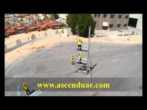 Single Width Ladder frame Scaffold Tower