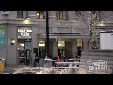 Opportunity Detroit | Roasting Plant Coffee Shop in Downtown Detroit