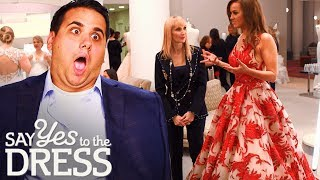 Bride Wants a Big Dress for Her Big New Year's Wedding! | Say Yes To The Dress