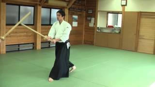 Техники работы с мечом, сенсей Юджи Хорикоси (6-й дан айкидо Айкикай)