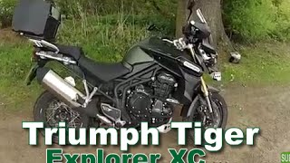 8. Triumph Tiger Explorer XC - Ride, review and walkaround 2015