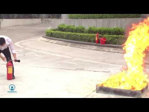 Handico Tower – 消火設備の取扱方法